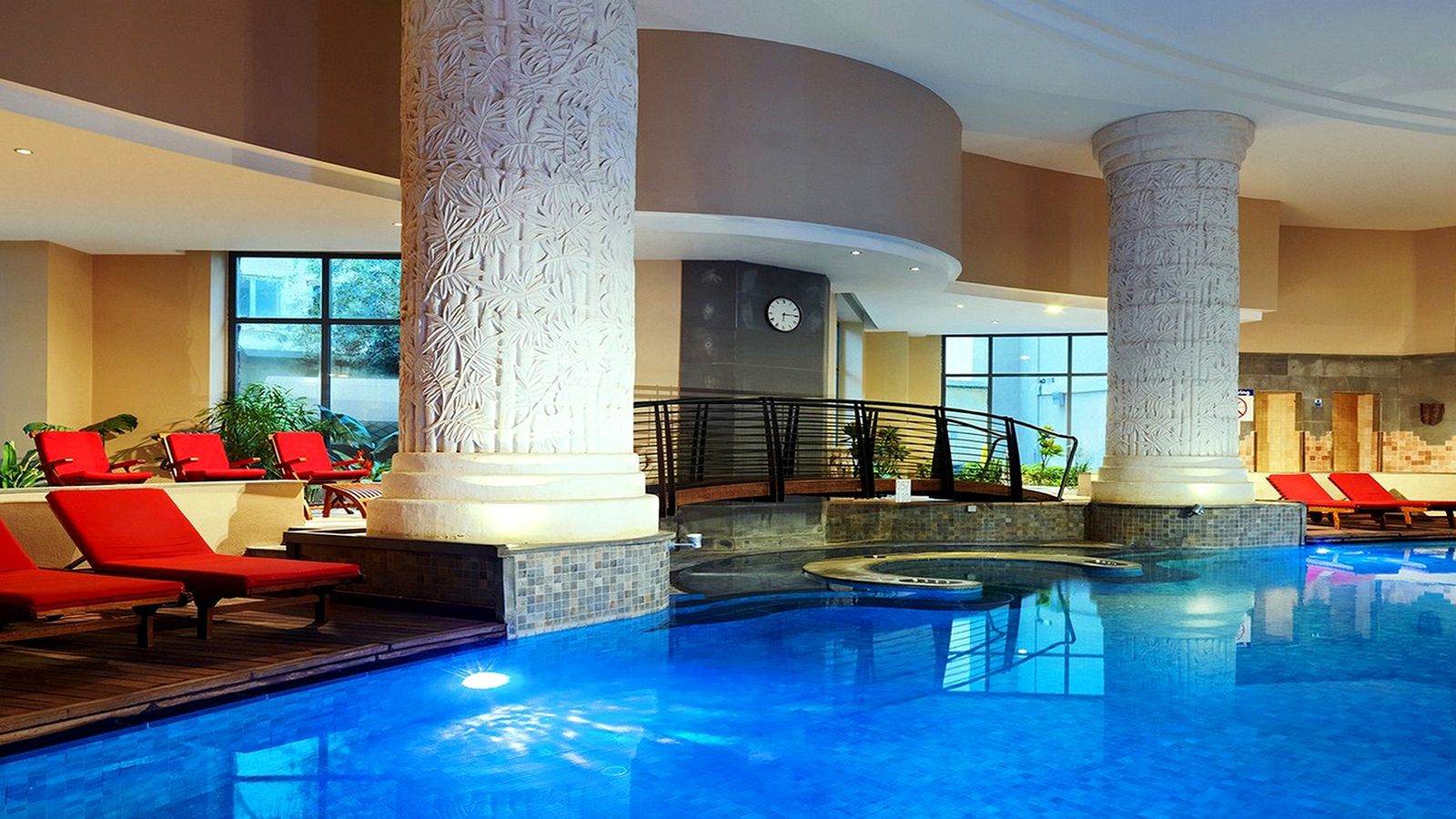 Indoor Pool at Myoka Spa