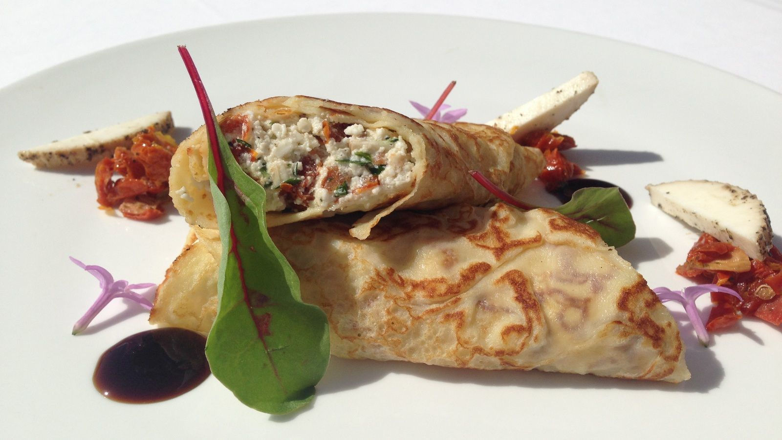 Signature Breakfast Maltese Crepes