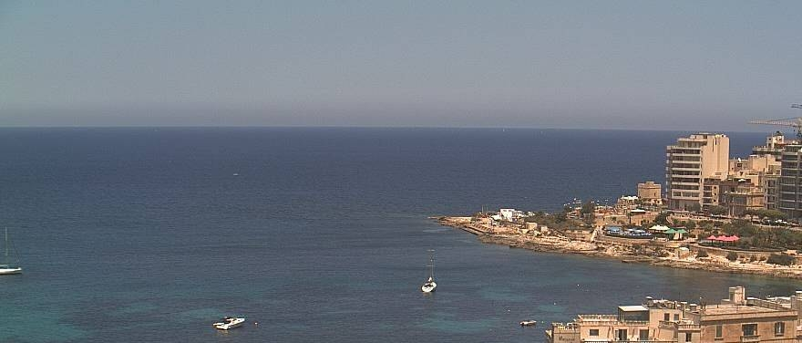 A favourite view of Balluta Bay from Le Méridien Malta